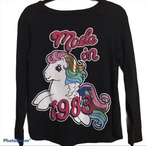 My Little Pony Made in 1983 Blue Shirt Size M